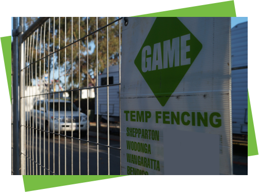 temp fencing slider